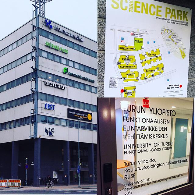 RUSE office inside Pharmacity inside Science Park inside Turku, Finland